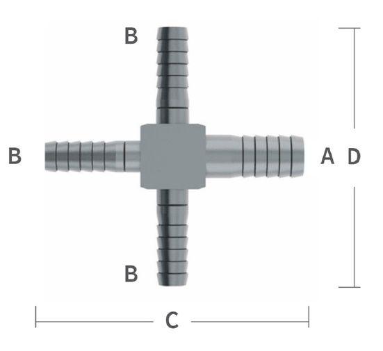 14 barb cross w1 38 barb