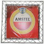 Huur backdrop logo Amstel
