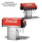 Tapzuil Postmix Coca Cola Adria, 4, 6 of 8 smaken