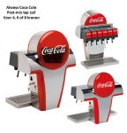 Tapzuil Postmix Coca Cola Always, 4, 6 of 8 smaken