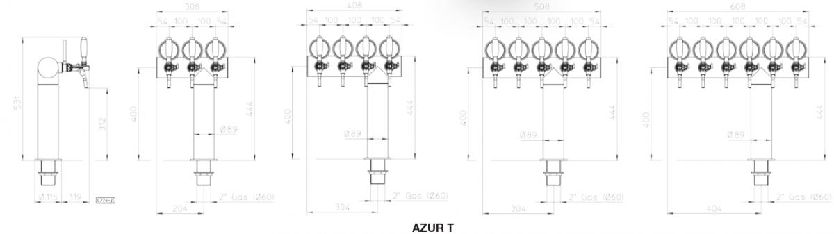 azur t 3 4 5 6 tekening