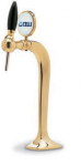 """Tapzuil """"Cobra Plus Large"""" 5/8"""" >1< (Messing)(GEEN LED)"""