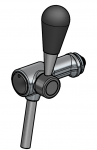 Tapkraan DSI 8,5/10 mm chroom