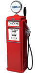 """Tapzuil Gasoline 5/8"""" >1< (Red)"""