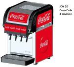 "Postmix Overcounter ""Joy 20"" 4 smaken Coca Cola"