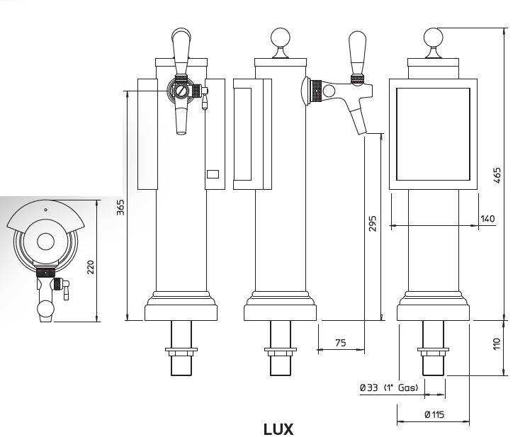 lux 1 tekening