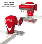 Tapzuil Postmix Coca Cola Polar Clamp, 3, 4, 6 of 8 smaken