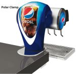 Tapzuil Postmix Pepsi Cola Polar Clamp