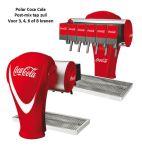 Tapzuil Postmix Coca Cola Polar, 3, 4, 6 of 8 smaken