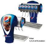 Tapzuil Postmix Pepsi Cola Polar
