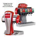 Tapzuil Postmix Coca Cola Prestige 4, 6 of 8 smaken