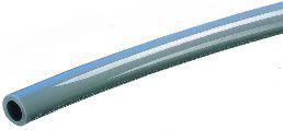 grey pvc drain tubing industrial grade lightweight flexibility kinkresistance