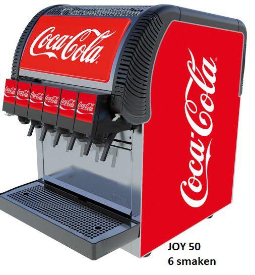 postmix overcounter joy 50 6 smaken coca cola