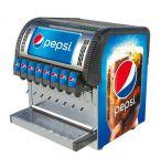"Postmix Overcounter ""Joy 65"" 8 smaken Pepsi"