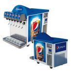 "Postmix Overcounter ""Polo 50"" 6 smaken Pepsi"