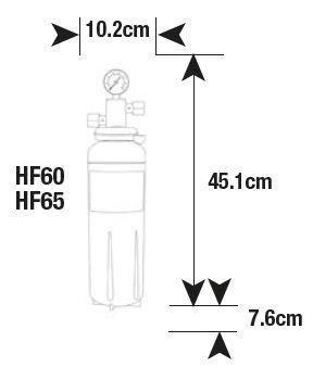 single high flow filter