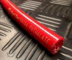 """Slang gewapend rood ID""""9.65mm x OD 15mm (ID .380""""x OD.593"""")"""